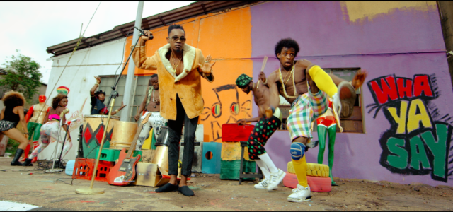 VIDEO : Patoranking – DANIELLA WHINE