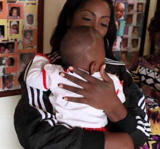 Tiwa Savage Visits Orphanage Home in South Africa, Shares Feelings