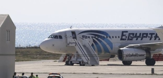 Egypt Air Hijack Ends as Passengers Freed Unharmed and Hijacker Apprehended (Full details)