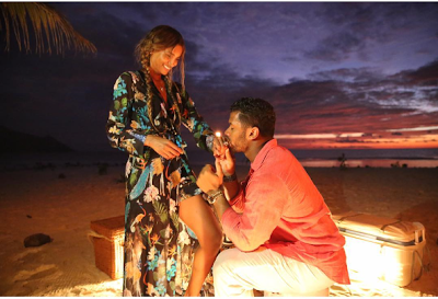 Wow ! Singer Ciara & Russell Wilson Just Got Engaged