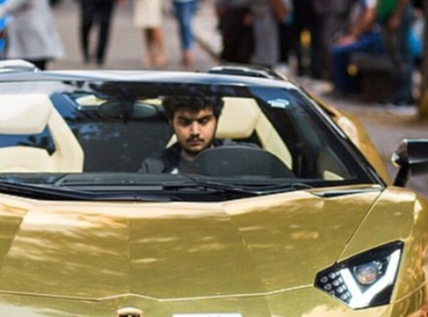 Turki-Bin-Abdullah-storms-London-with-4-gold-plated-cars-2