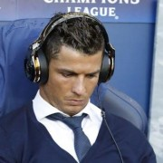 See what Christiano Ronaldo was caught Watching on his Phone last Night