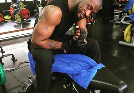 Peter Okoye of Psquare shares Sexy Workout Photos