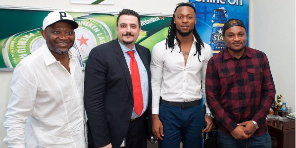 Flavour Nabania Becomes Brand Ambassador for Life Lager Beer