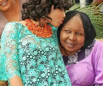 See What Tonto Dikeh just did to her Step Mother