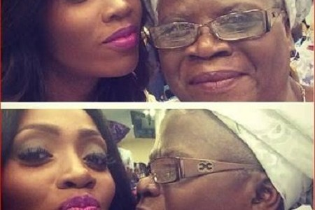 "See Photos of Tiwa Savage's Mother Tee Billz Called a ""Witch"""