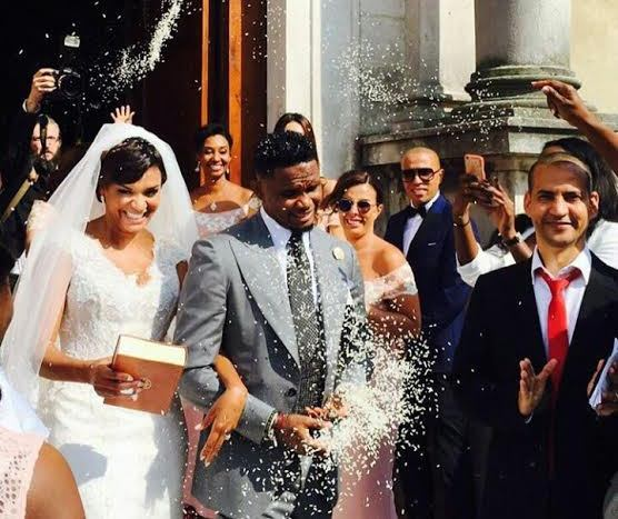 Photos from Samuel Eto'O & Georgette Tra Lou's White Wedding