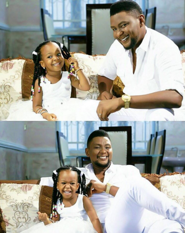 ChaCha Eke Faani & Husband 3rd Wedding Anniversary