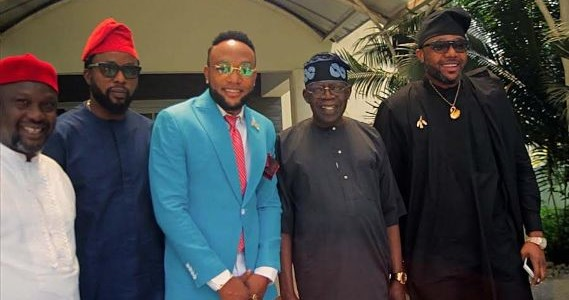 Tinubu Hosts Billionaire Five Star Music CEO E-Money & his elder brother KCee