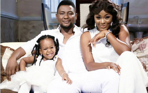 Happy 3rd Wedding Anniversary to Actress ChaCha Eke Faani & Husband