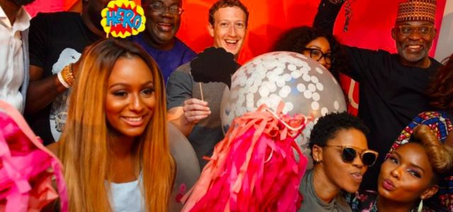 Mark Zuckerberg Meets with Yemi Alade, Rita Dominic, RMD, Kunle Afolayan and other Nigerian Stars