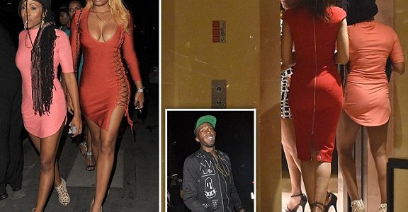Usain Bolt Takes more Girls to his Hotel Room in London (Photos)