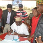"Ekiti State Governor Fayose Signs ""Anti Grazing Bill"" into Law"