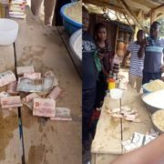 Abracadabra : Man Buys Rice With N20,000 the Money Turns to N10 Notes in Ibadan (Photos)