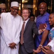 Facebook CEO Mark Zuckerberg Meets with President Buhari & Osinbajo today in Abuja