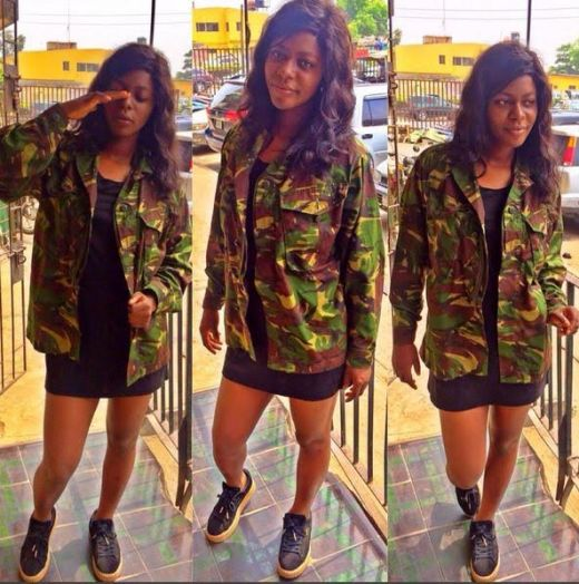 Meet Nigeria's Sexiest Female Army Officer (See Photos)