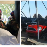 Luxury Cars worth Millions of Dollars Seized from Yahya Jammeh (Photos)
