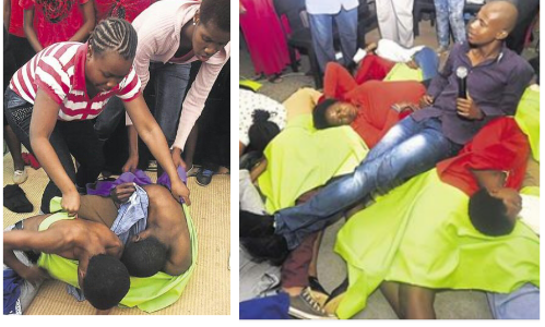 South African Pastor Made Members to Masturbate inside Church (See Photos)