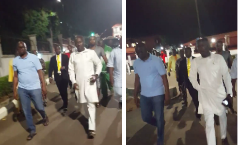 Governor Ayo Fayose Stops DSS From Arresting Apostle Suleman in Ekiti State (Watch Video)