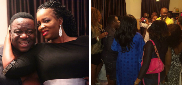 Exclusive Photos From Funny Actor Mr Ibu's Wife Birthday Celebration