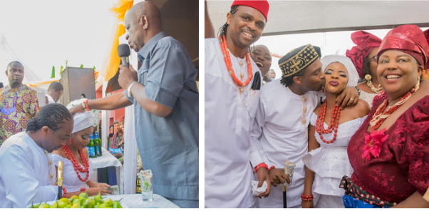Linda Ikeji's sister Laura Ikeji Ties the Knot with Kanu Nwankwo's brother Ogbonna Kanu in a Traditional Wedding (See Photos)