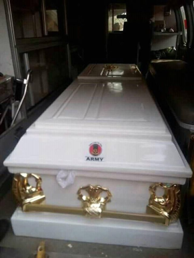 Female Soldier Who Died After her Engagement, Buried (See Photos)