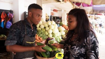"Man Shares Story of how he Met his Wife who came to Buy a ""very big Cucumber"" (Photos)"