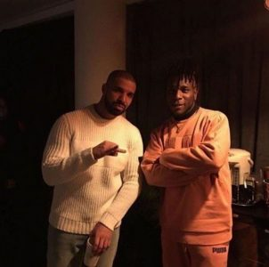 Burna Boy Meets Drake, Wizkid is Yet to (See Photos)