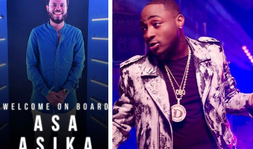 Four Years later, Asa Asika is Back as Davido's Manager (Full Details)