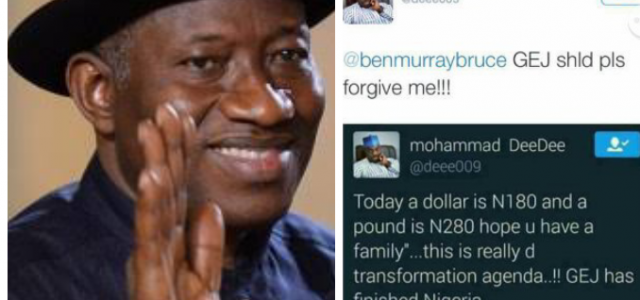 Former President Jonathan Replies Man Who Accused Him Of Destroying Nigeria (Must See)