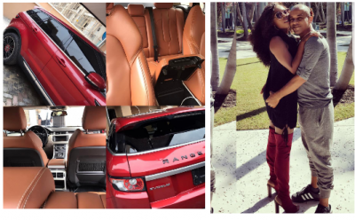 Nigerian Lady Buys her Husband Range Rover EVogue for Believing in Her