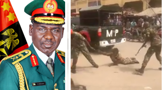 Nigerian Army Demotes and Imprisons Two Soldiers With Hard Labour For Maltreating a Physically Challenged Man