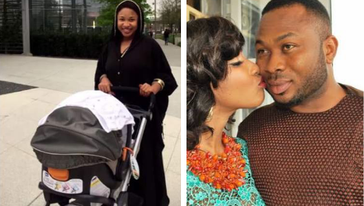 """He has never Called to Check on our Son"" – Tonto Dikeh Confirms Break Up with Husband"