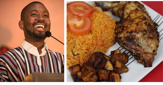 See What Happened To Ghanaian Man After He Insulted Nigerian Jollof Rice At An Event In Lagos