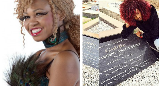 See What Denrele Did When he Paid a Visit To Late Best Friend, Goldie's Grave