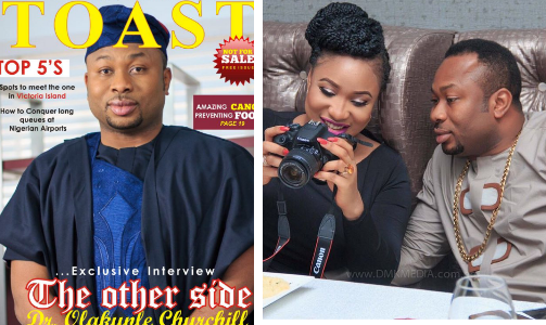 """Please Tonto Dikeh fans take it easy on her, she's still adjusting to Motherhood – Churchill (Read Full Interview)"