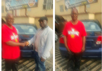 Man Rewarded a Brand New Car for Returning Lost Items to the Owner (See Photos)
