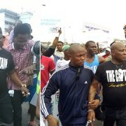 Charly Boy, Omoyele Sowore, Seyi Law and others Leads Protesters (See Photos)