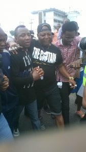 Charly Boy and Omoyele Sowore Leads Protesters (See Photos)