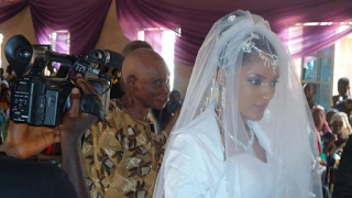 BBNaija : Gifty's Husband's Cousin Exposes her, Shares Wedding Pictures