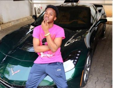 Korede Bello Buys himself 2017 Chevrolet Corvette Worth over N30million