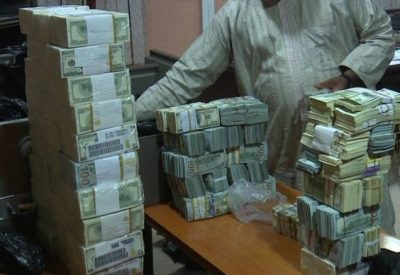$9.7 Million Uncovered from NNPC Boss, Andrew Yakubu's Kaduna Home
