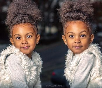 Meet the Most Beautiful Identical Twins on the Internet, their Nigerian Mum & Irish Dad