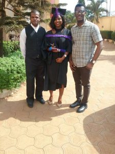 Lady graduates with First Class in Civil Engineering from Nnamdi Azikwe University