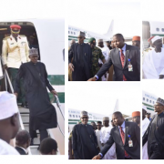 President Muhammadu Buhari Arrives Nigeria Today from London