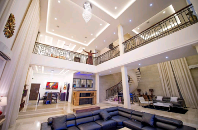 Photos of P-Square's New Mansion in Banana Island Worth Over N1.5 Billion