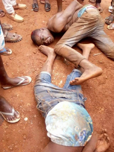 Thieves almost Lynched in Abia State