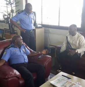 Apostle Suleman pictured at Force Headquarters after Stephanie Otobo's $5m Lawsuit against him