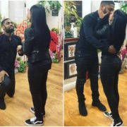 Awww.. See the ring a 22-year-old Used in Proposing to 23-year-old Motivational Speaker, Dana (A Must See)