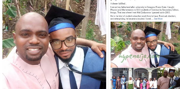 """A Dream Fulfilled"" Nigerian Good Samaritan Sold his Car to Sponsor an Orphan he met during his NYSC, in the University"